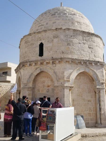 イスラエル旅行・エルサレムの天昇教会