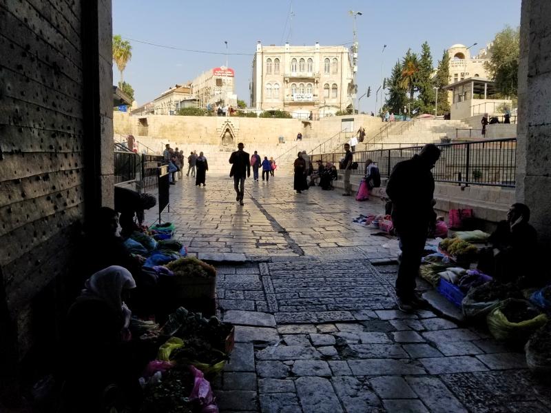 イスラエル旅行・エルサレムのダマスカス門
