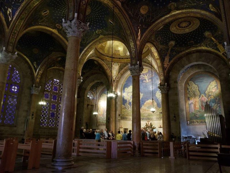 イスラエル旅行・エルサレムの万国民の教会