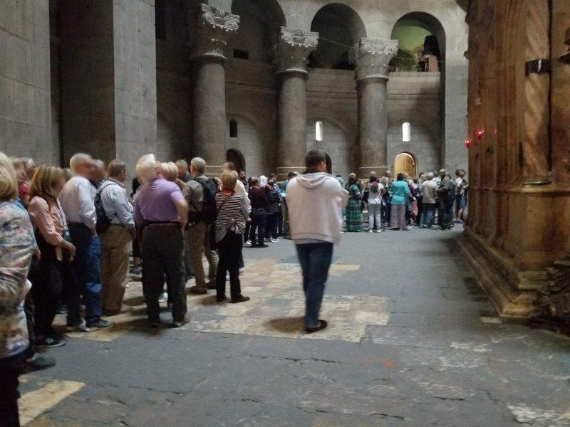 イスラエル旅行・エルサレムの聖墳墓教会