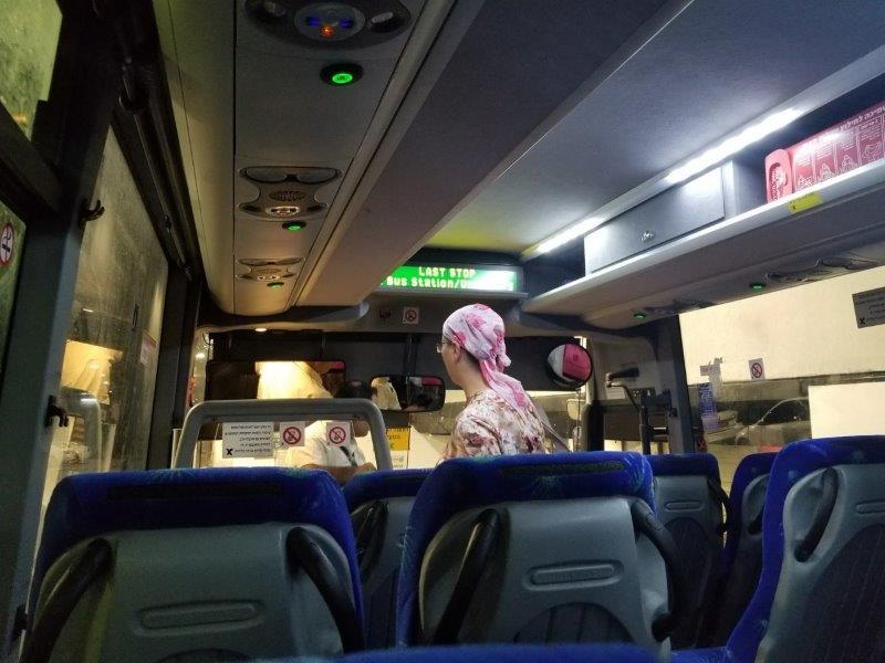 イスラエル旅行。エゲッドバス。エルサレムのバスステーション。