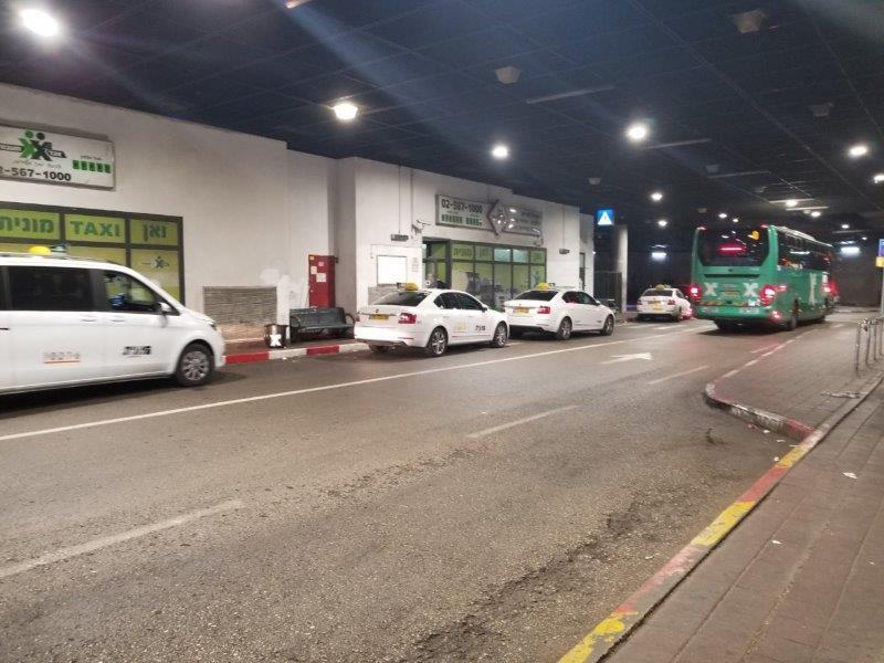 イスラエル旅行。エルサレムのバスステーション。