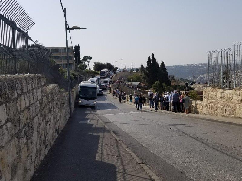 イスラエル旅行・エルサレムの展望台