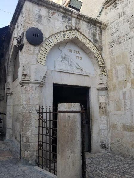 エルサレムのヴィア・ドロローサ(Via Dolorosa)