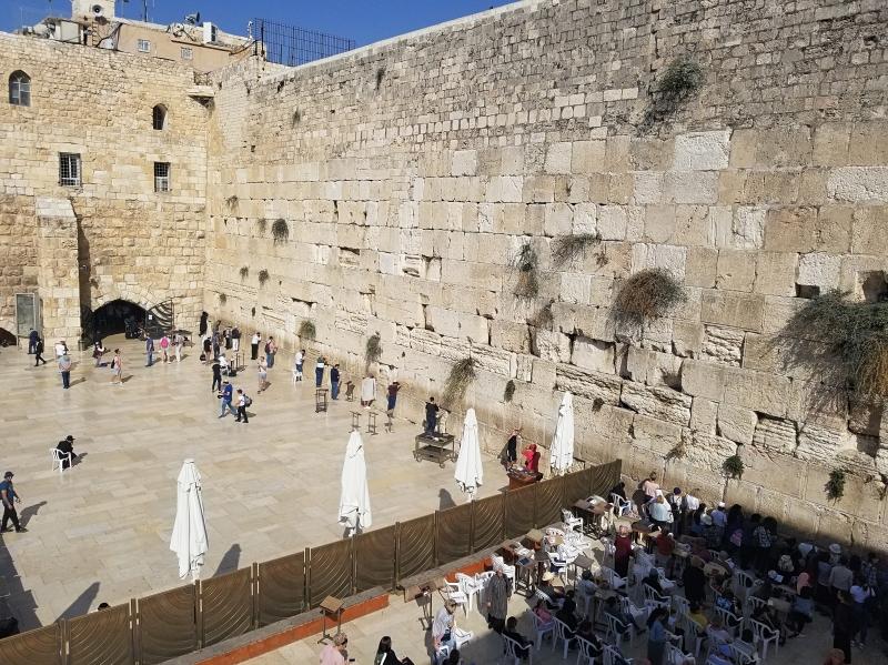 イスラエル旅行・エルサレムのユダヤ教の聖地・嘆きの壁(Western Wall)