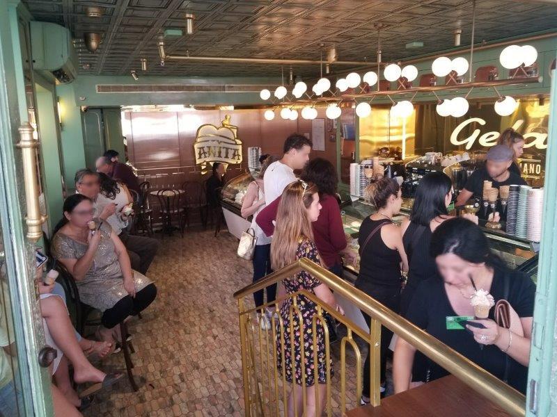 テルアビブ観光。ネヴェ・ツェデクのアイスクリーム屋さん・アニータ。
