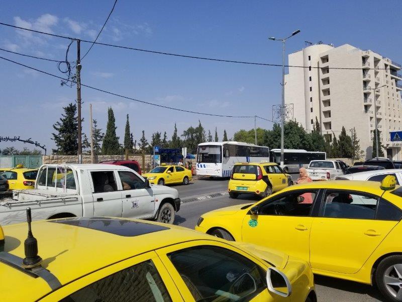 イスラエル旅行・ベツレヘムのバスの停留所