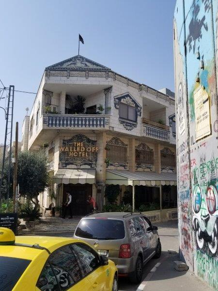 イスラエル旅行・ベツレヘムのウォールドオフホテル(The Walled Off Hotel)