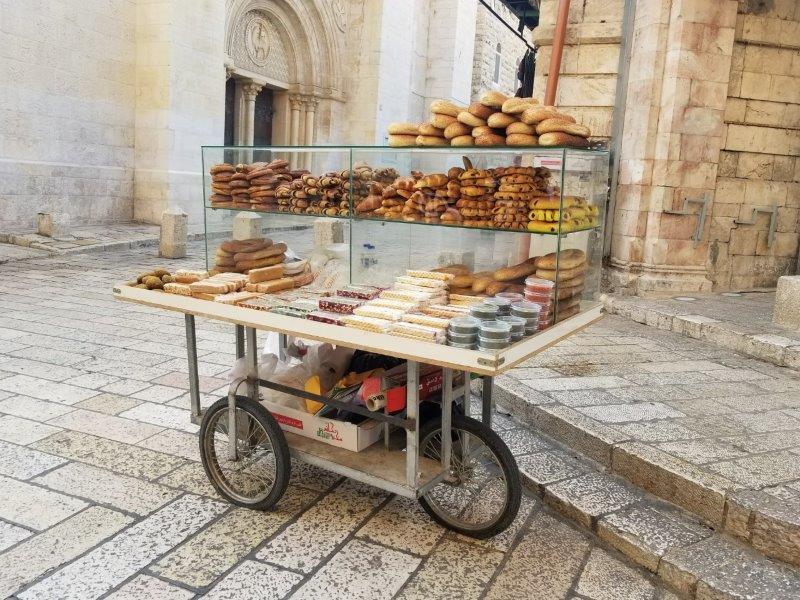 イスラエル旅行・エルサレムのパン屋さん