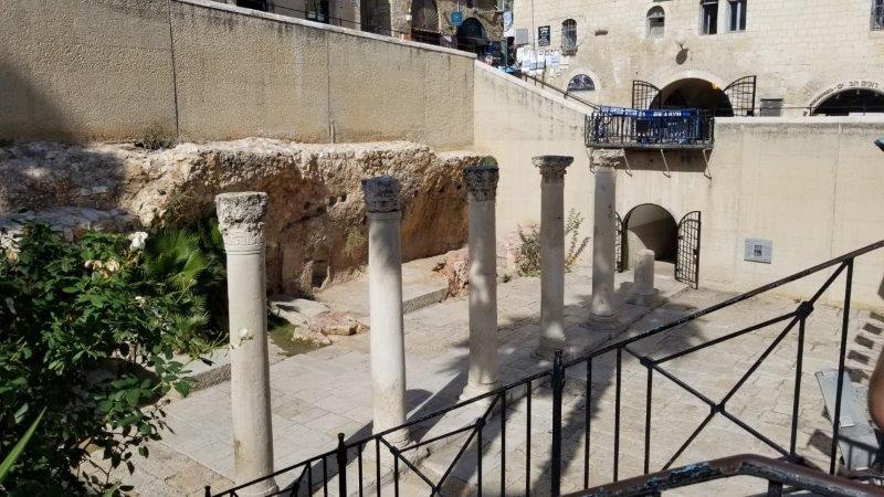 イスラエル旅行・エルサレムのカルド