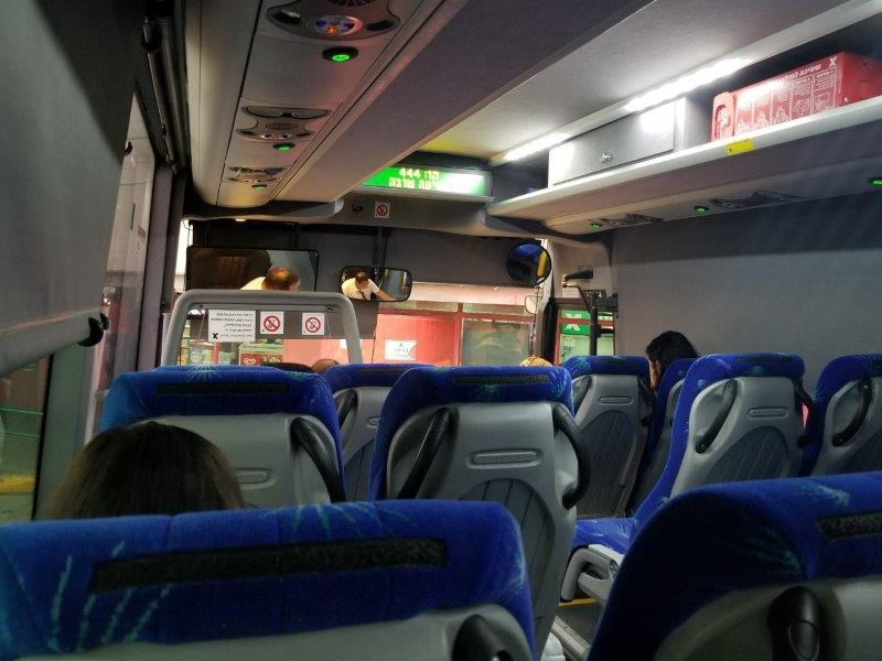 イスラエル旅行。エゲッドバス。