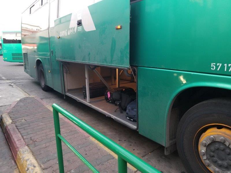 イスラエル旅行。エゲッドバス。エイラットのバスターミナル。