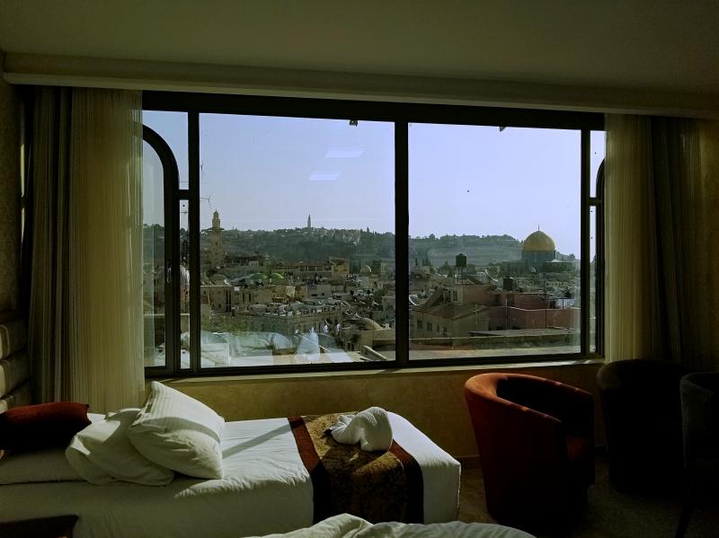 イスラエル旅行・エルサレム旧市街の「ハシミ・ホテル(Hashimi Hotel)」
