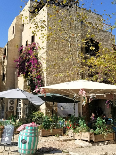 イスラエル旅行・エルサレムのホーリー・カフェ