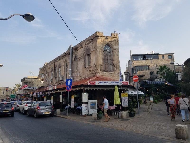 イスラエル旅行・ヤッファの街