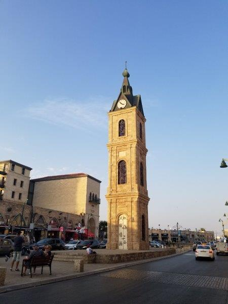 イスラエル旅行・ヤッファの時計塔