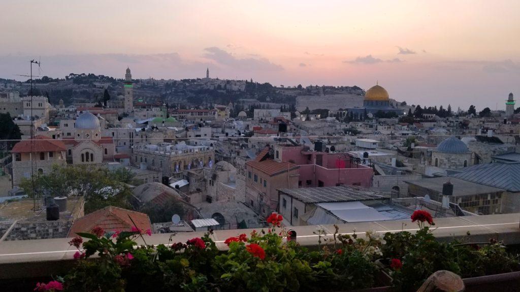 ヨルダン旅行・エルサレム旧市街の絶景ホテル