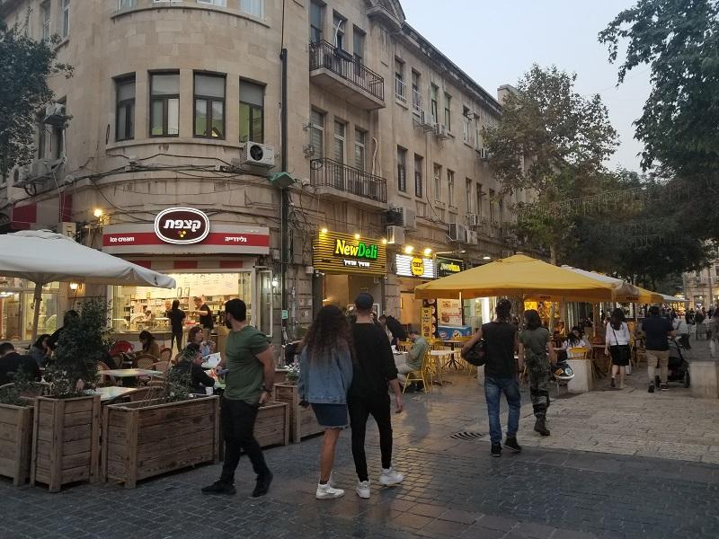 イスラエル旅行・近代的な新市街(西エルサレム)