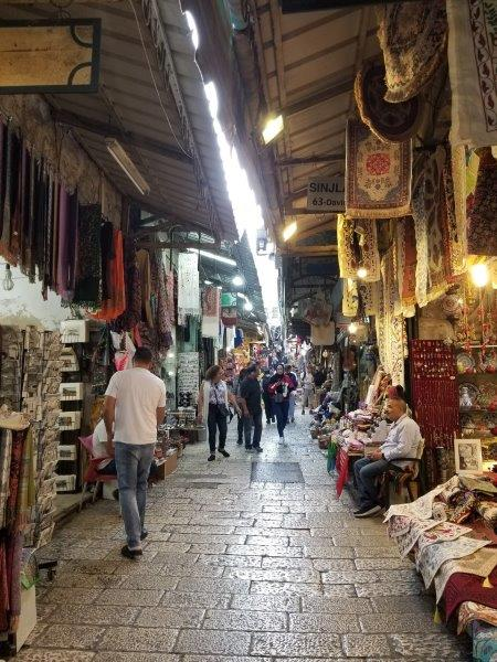 イスラエル旅行・エルサレム旧市街のマーケット