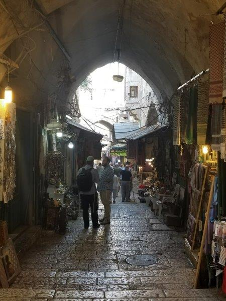 イスラエル旅行・エルサレム旧市街の路地