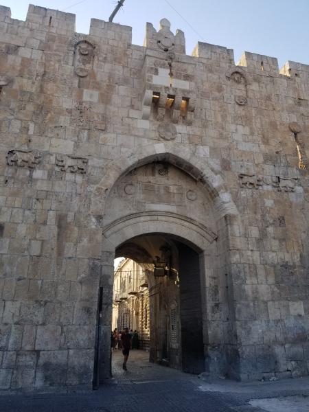 イスラエル旅行・エルサレム旧市街の門