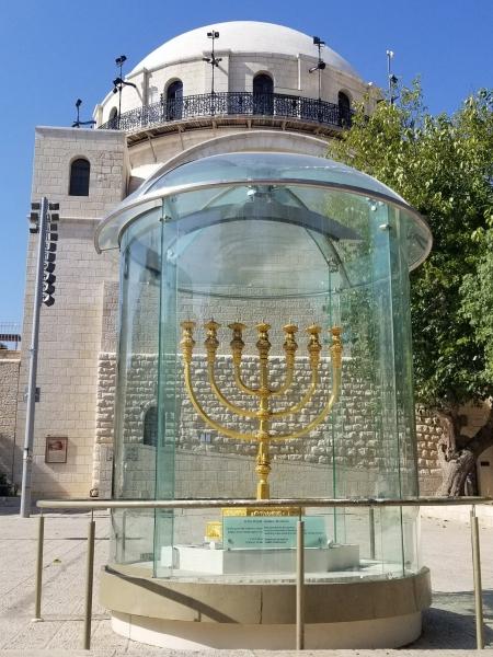イスラエル旅行・エルサレムのシナゴーグ