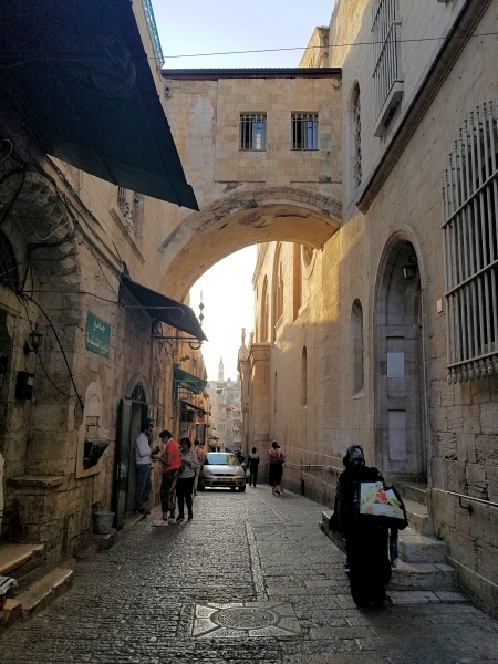 イスラエル旅行・エルサレムの旧市街