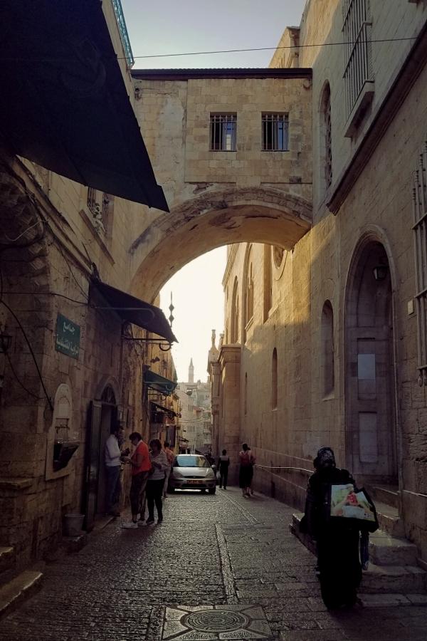 イスラエル旅行・三宗教の聖地、エルサレムの旧市街。