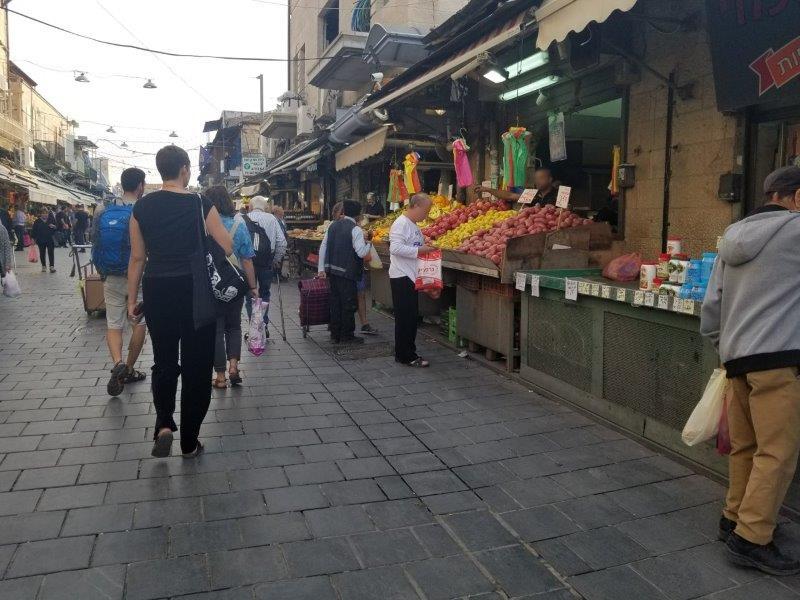 イスラエル旅行・エルサレムのマハネ・イェフダ市場