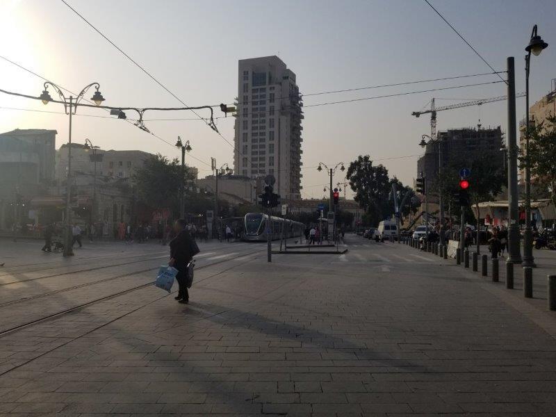 イスラエル旅行・エルサレムのライトレール