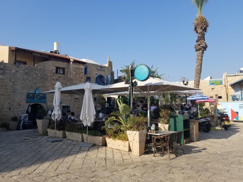 イスラエル旅行・ヤッファのケドゥミーム広場(Kedumim Square)