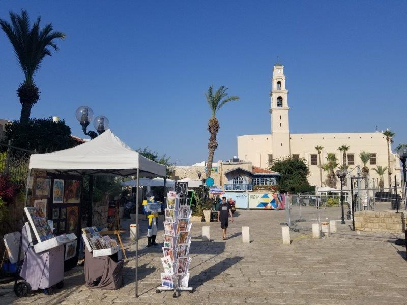 イスラエル旅行・ヤッフォのケドゥミーム広場(Kedumim Square)