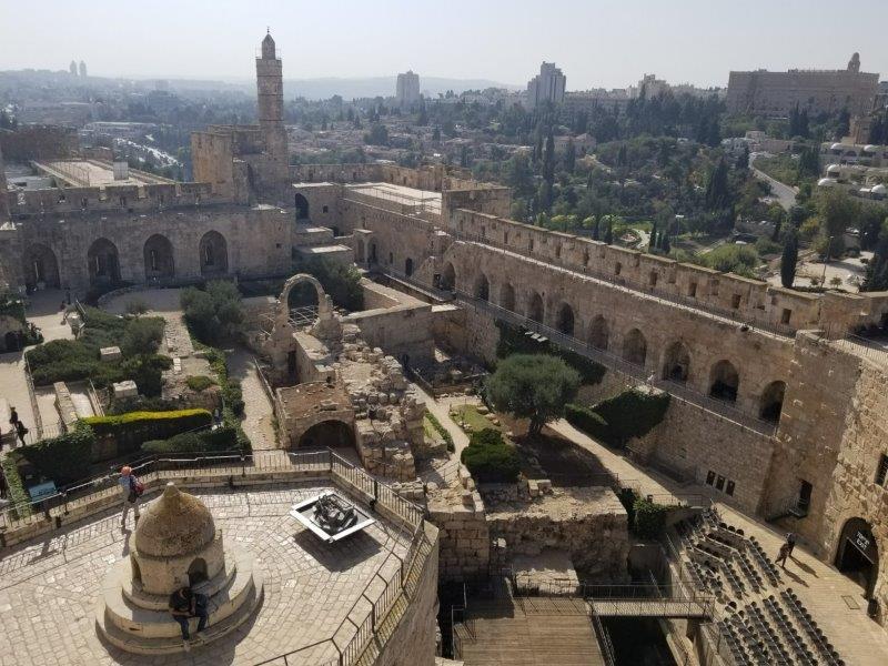 イスラエル旅行・エルサレムのダビデの塔