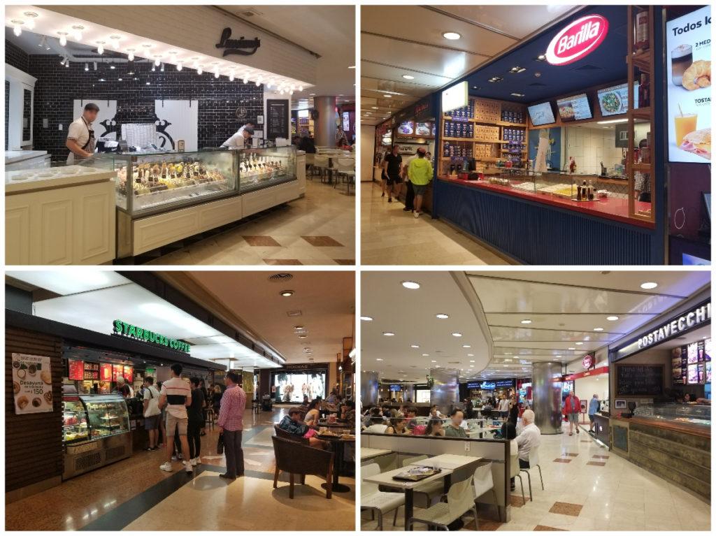 ブエノスアイレスのショッピングモール「Galerías Pacífico」