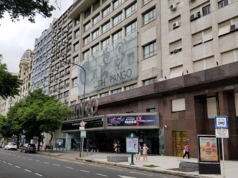 Hotel NH のタンゴ劇場