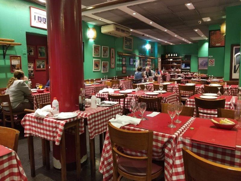 アルゼンチン旅行・ブエノスアイレスのイタリア料理のお店「Broccolino(ブロッコリーノ)」
