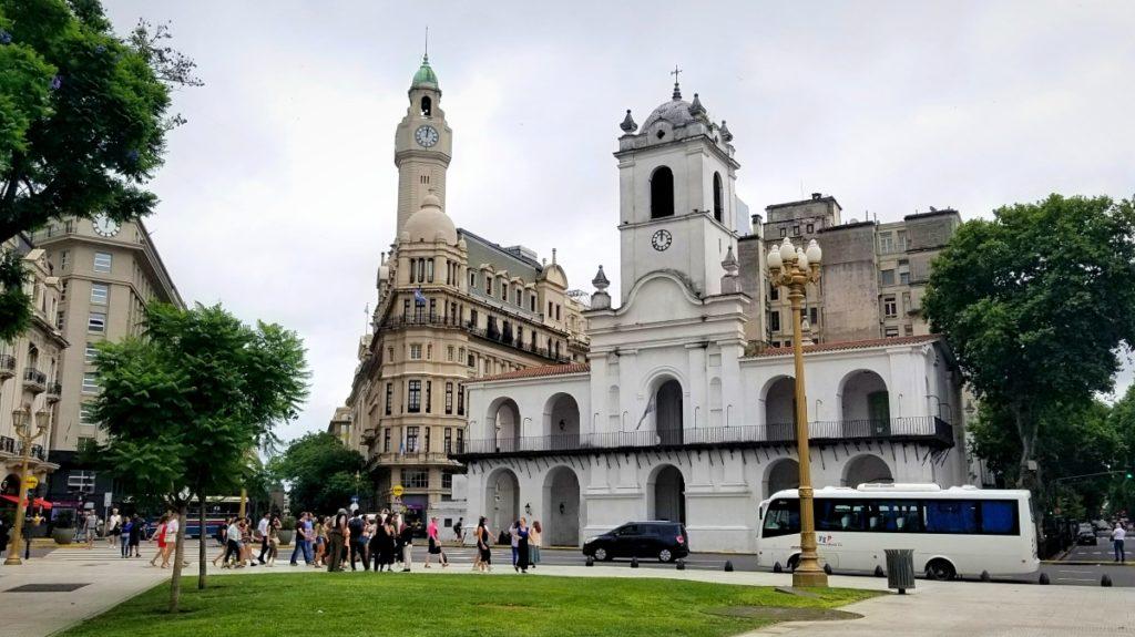 アルゼンチン旅行・ブエノスアイレスの5月広場