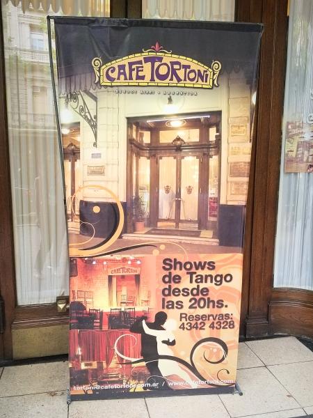 ブエノスアイレス最古のカフェ「カフェ・トルトーニ(Café Tortoni)」