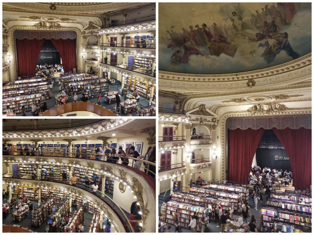 世界の美しい書店第二位・ブエノスアイレスの「エル・アテネオ」
