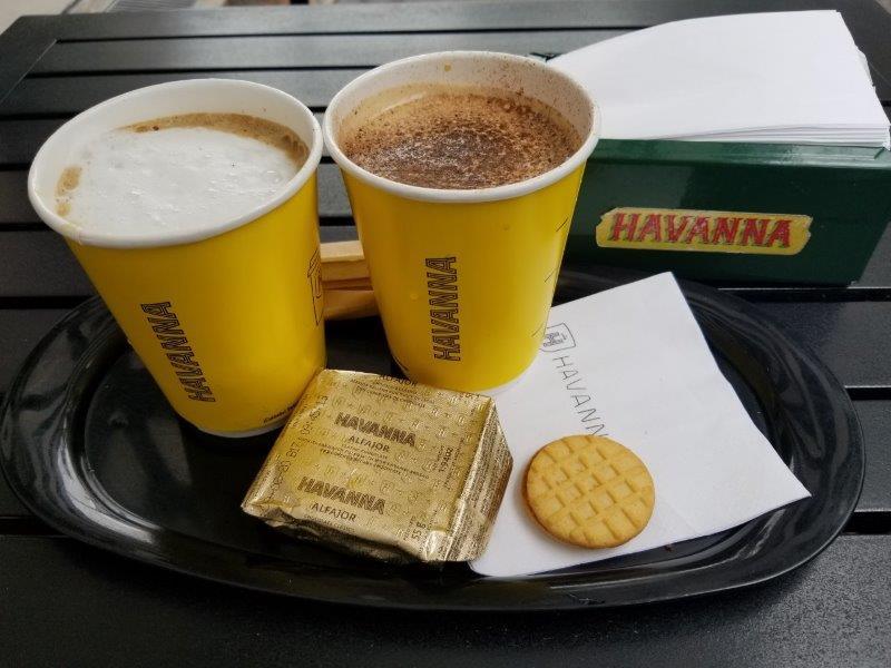 ブエノスアイレスのカフェ「Havanna(アバナ)」
