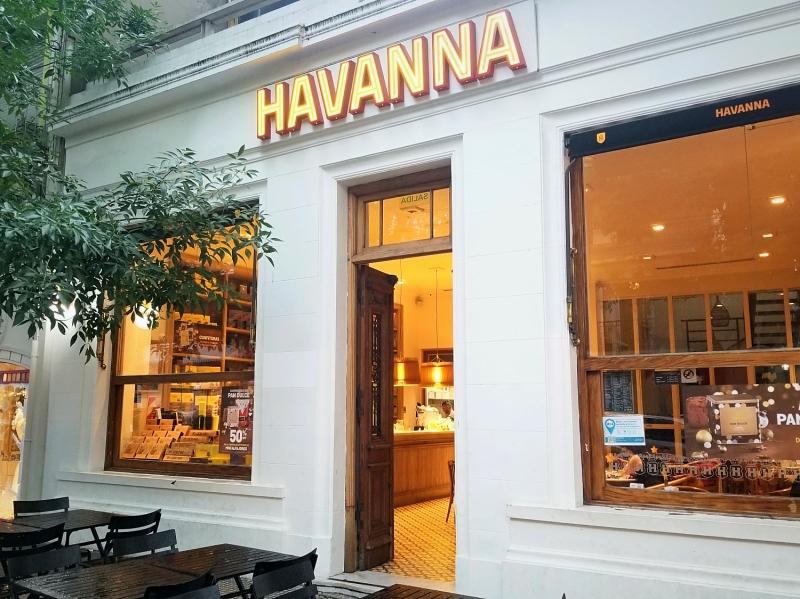 アルゼンチンのお菓子屋・カフェ「Havanna(アバナ)」