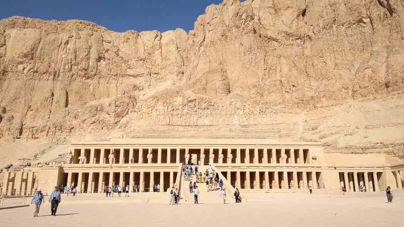 エジプト・ルクソール神殿