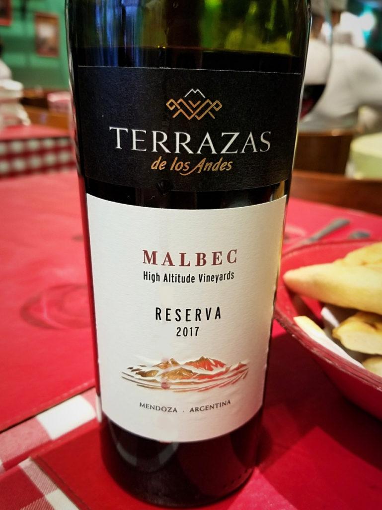 メンドーサ産のマルベック(Malbec from Mendoza)