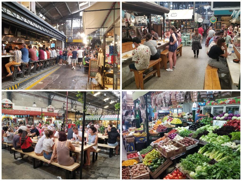 ブエノスアイレスのマーケット「メルカド・サン・テルモ」