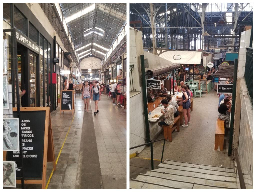 ブエノスアイレスの市場「メルカド・サン・テルモ」