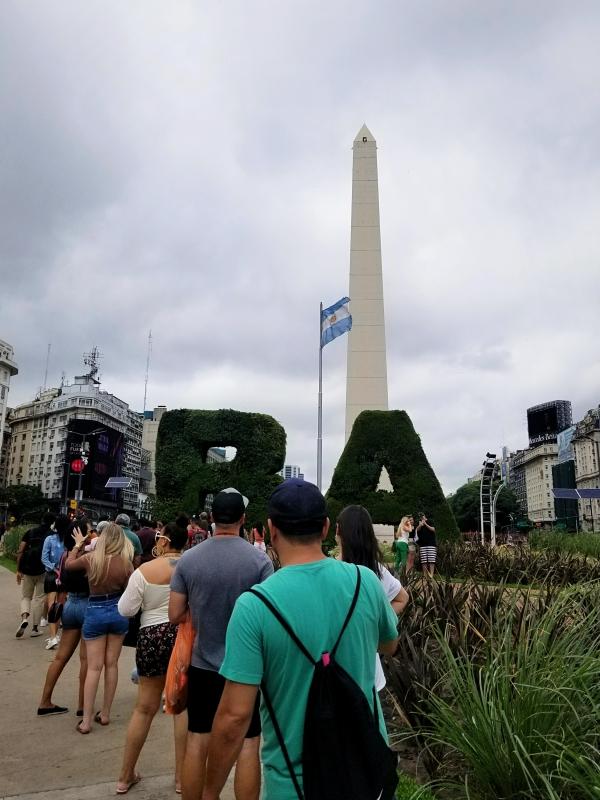 ブエノスアイレスのオベリスク(オベリスコ)
