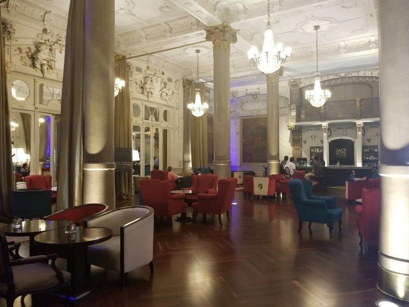 ブエノスアイレス・Savoy ホテルのラウンジ
