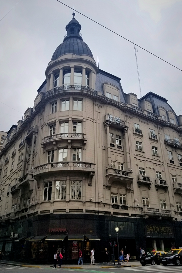 ブエノスアイレス旅行・Savoy ホテルのレビュー