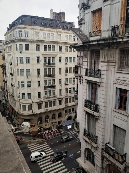 ブエノスアイレスのSavoy ホテル・客室からの眺め