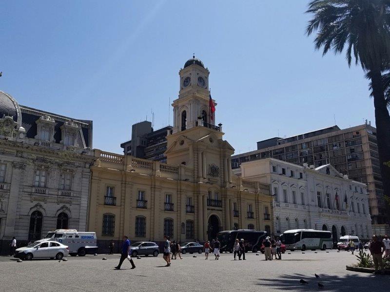 チリの首都サンティアゴ観光「国立歴史博物館」